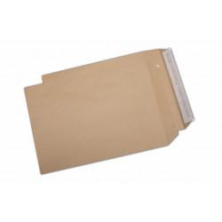Plic C4, pentru documente, siliconic, kraft, 250 buc.