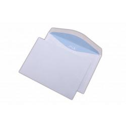 Plic C6, pentru documente, gumat, alb, 1000 buc.