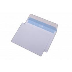 Plic C6, pentru documente, siliconic, alb, 1000 buc.