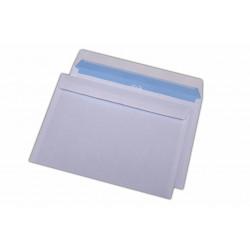Plic C5, pentru documente, siliconic, alb, 500 buc.