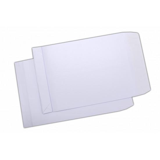 Plic C4, cu burduf 30 mm, siliconic, alb, 250 buc.